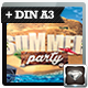 Summer Party | Spring Break | Beach Party Flyer - GraphicRiver Item for Sale