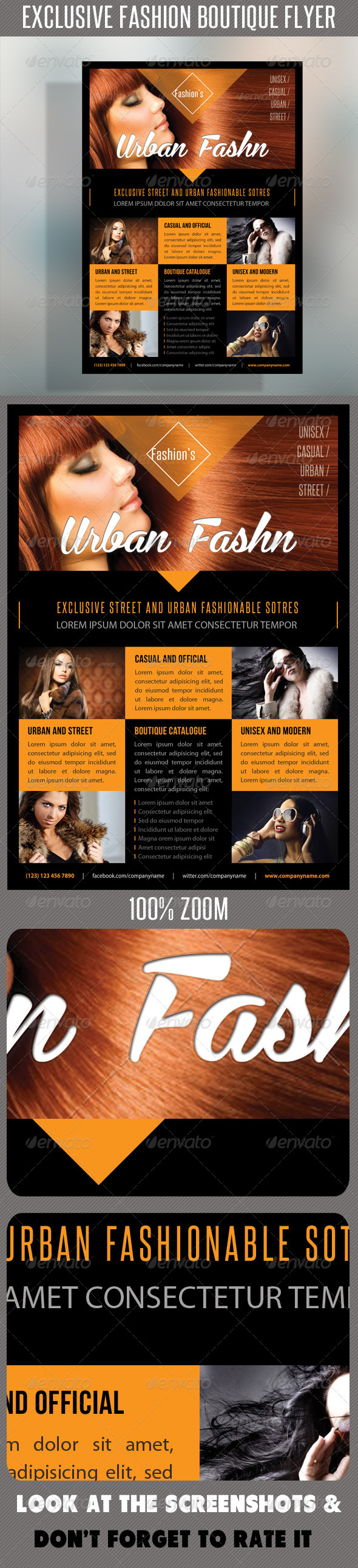 Fashion Product Flyer 48 - Flyers Print Templates