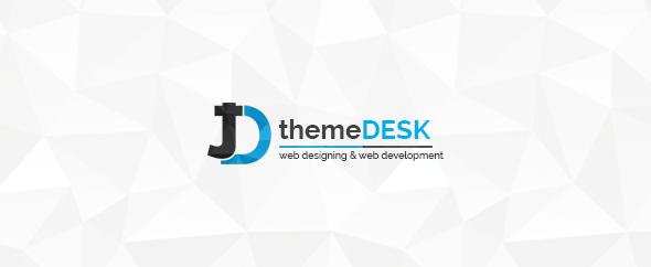 Theme desk banner