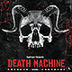 Death Machine Flyer Template - GraphicRiver Item for Sale
