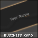 Slim and Clean - Business Card - GraphicRiver Item for Sale
