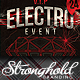Download Vintage Electro Haus Event Flyer Template from GraphicRiver