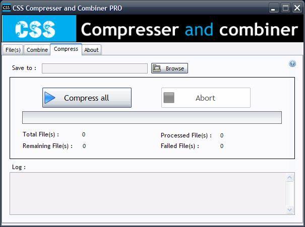 bulk css compressor and combiner pro