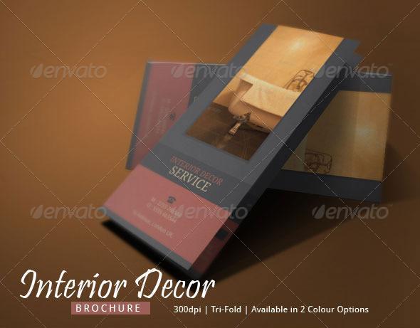 Interior Decor Brochure Design By Blogankids Graphicriver