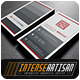 IntenseArtisan Business Card Vol.62 - GraphicRiver Item for Sale