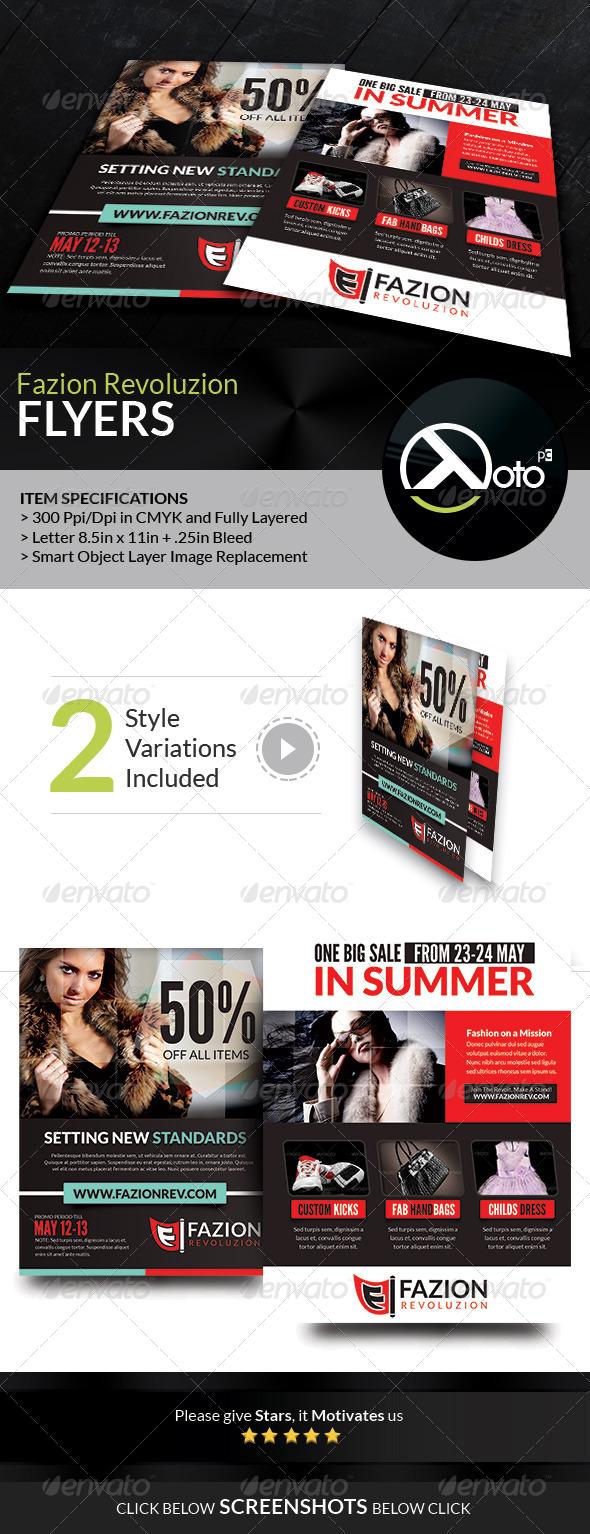 Fashion Revolution Sale Flyers - Commerce Flyers