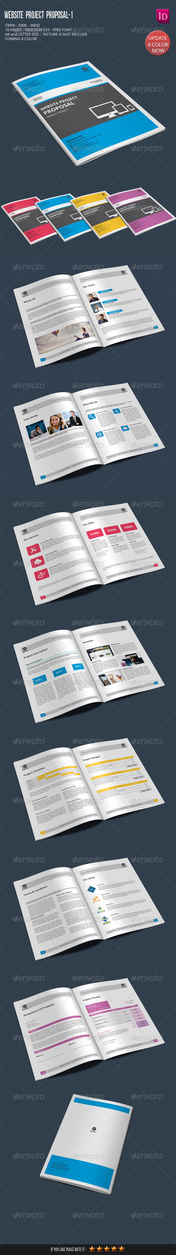 Website Project Proposal-1 - Proposals & Invoices Stationery