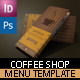 Coffee Shop Menu - GraphicRiver Item for Sale