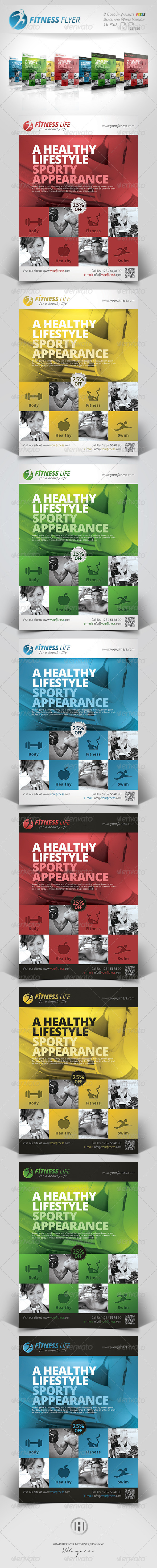Fitness - Sports Business Flyer - Corporate Flyers