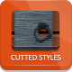Cutted Transparent Styles - GraphicRiver Item for Sale