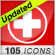 105 Medical Icons Set - GraphicRiver Item for Sale