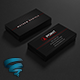Dark Corporate Business Card 83 - GraphicRiver Item for Sale