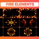 Fire Elements And Backgrounds | Motion Graphics - VideoHive Item for Sale