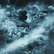 Travel Through Abstract Dark Night Thunder Clouds with Lightning Strikes - VideoHive Item for Sale