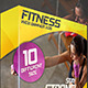 Fitness Web Banner Ads - GraphicRiver Item for Sale