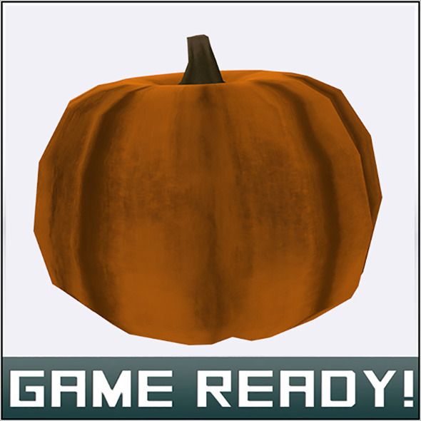 Autumn Pumpkin #1 - 3DOcean Item for Sale