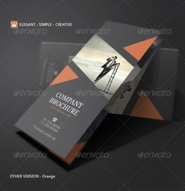 Corporate Brochure Template By Blogankids  Graphicriver