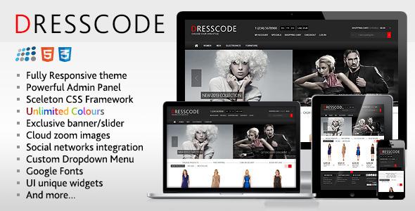 Dresscode - Responsive NopCommerce Theme