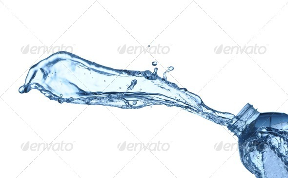 Water splash - Stock Photo - Images