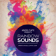 Rainbow Sounds Flyer Template - GraphicRiver Item for Sale