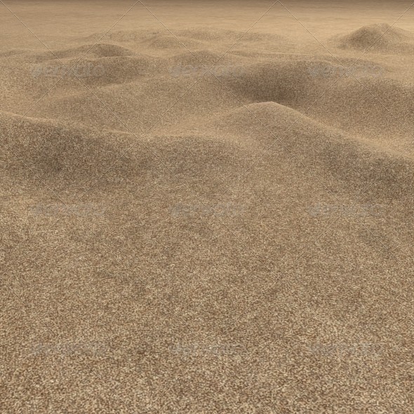 Plain Desert Sand Seamless Ground Texture - 3DOcean Item for Sale