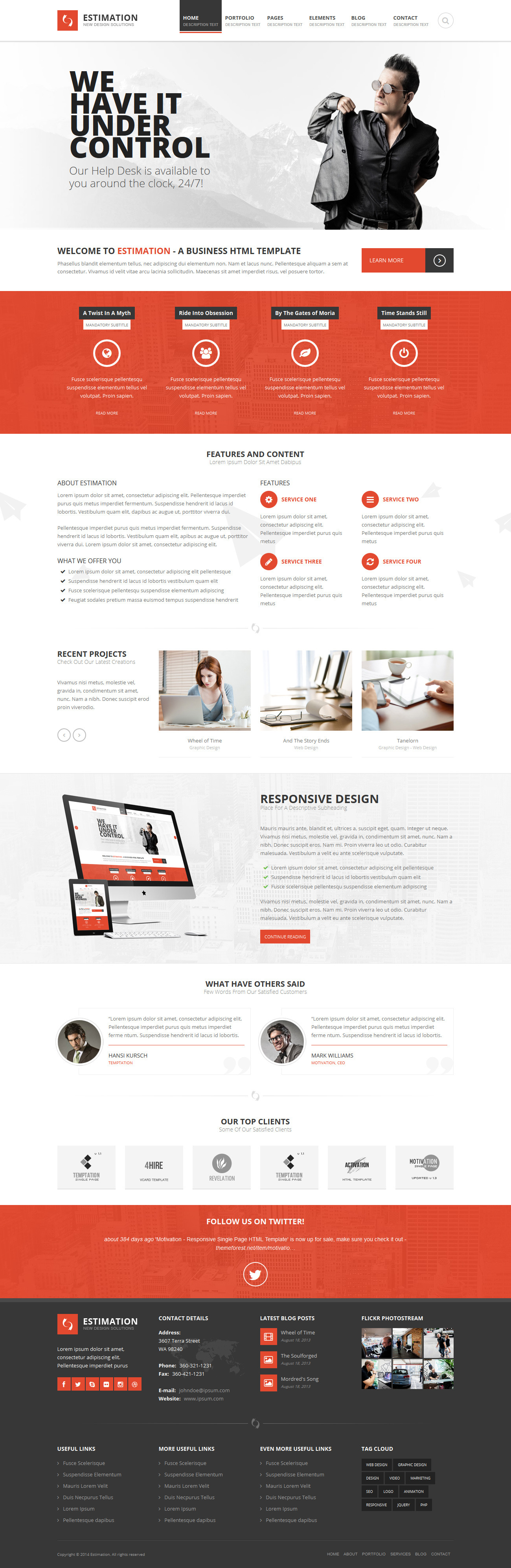 Estimation responsive business html template by hedgehogcreative estimation responsive business html template corporate site templates screenshots01previewimageg screenshots02home1g accmission Image collections