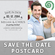 Save The Date Postcard - GraphicRiver Item for Sale
