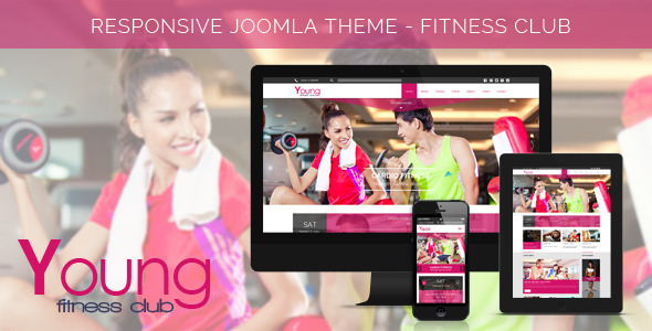 Young Fitness - Spa & Fitness Joomla Template - Health & Beauty Retail