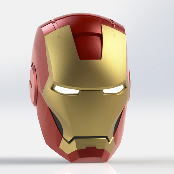 Iron Man Helmet - 3DOcean Item for Sale