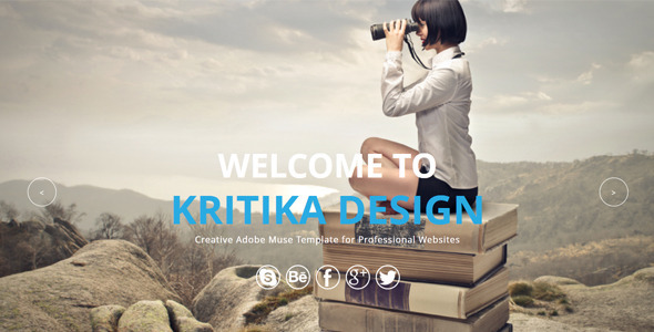 Kritika – Multipurpose Muse Template