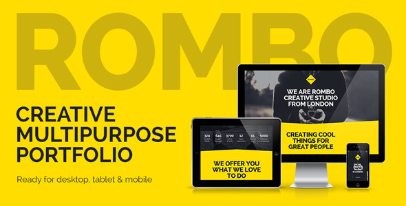 Rombo – Multipurpose Portfolio Muse Template