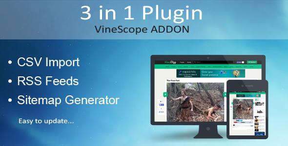 Vinescope Clone Addon - CodeCanyon Item for Sale