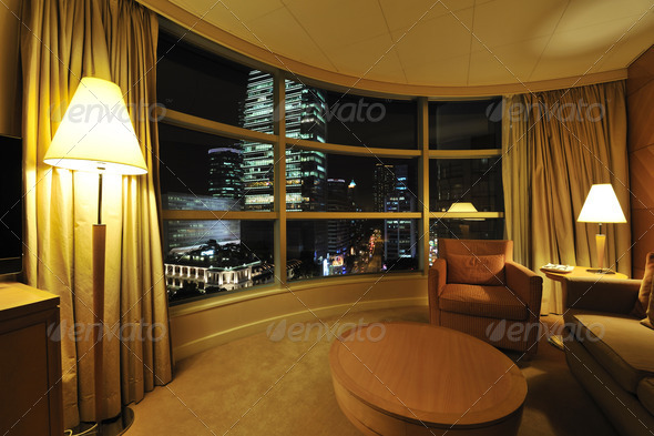 Luxurious Hotel Room - Stock Photo - Images