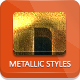 Extra Metallic Styles - GraphicRiver Item for Sale