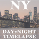 New York - Day to Night timelapse -Brooklyn Bridge - VideoHive Item for Sale