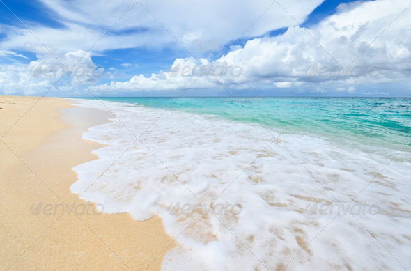 Beautiful beach - Stock Photo - Images