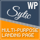 Sytic - One Page Multi-Purpose Responsive WP Theme