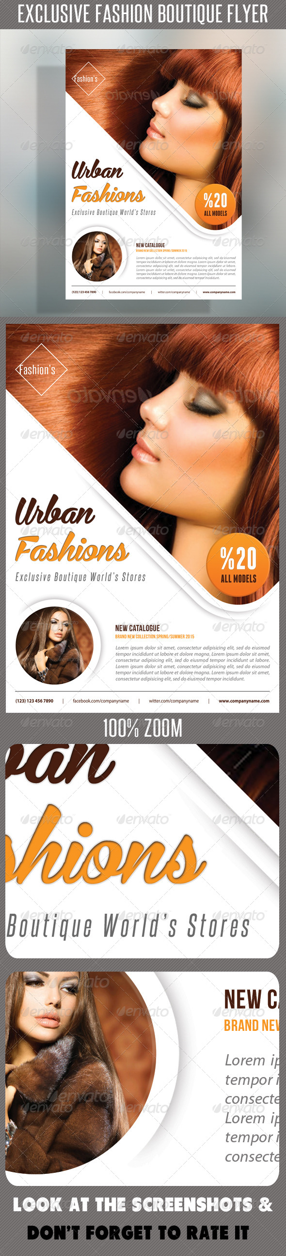 Fashion Product Flyer 51 - Corporate Flyers