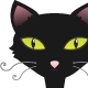 Black cat  - GraphicRiver Item for Sale