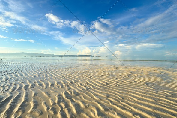 Low tide - Stock Photo - Images