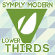 Simply Modern Lower Thirds - VideoHive Item for Sale