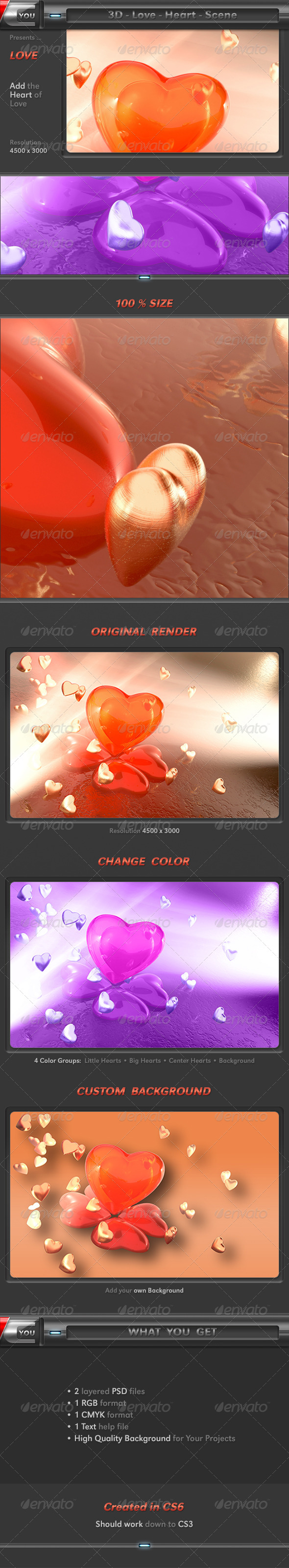 Valentine Love - Backgrounds Graphics