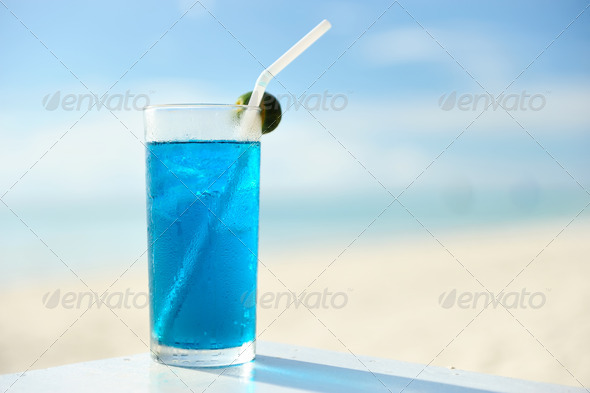 Beach cocktail - Stock Photo - Images