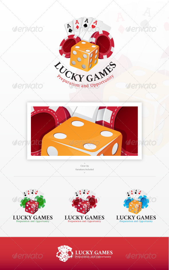 Lucky Games Logo - Objects Logo Templates