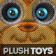 Stitched Furry Plush Toys Photoshop Creator