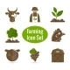 Farming Icon Set - GraphicRiver Item for Sale