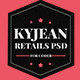 KyJean - Responsive eCommerce PSD Template - ThemeForest Item for Sale