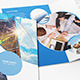 Brochure Business Circle Bi-Fold - GraphicRiver Item for Sale