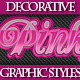 Set of Bright Colorful Graphic Stylles for Design. - GraphicRiver Item for Sale