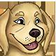 Golden Retriever Pup Illustration - GraphicRiver Item for Sale